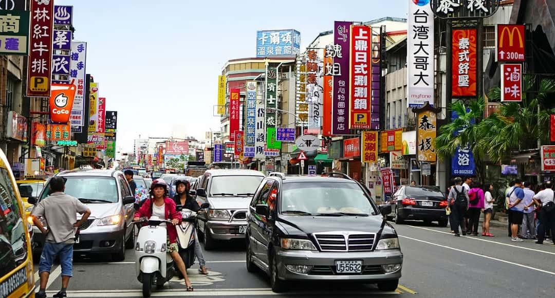 Taiwán - tráfico