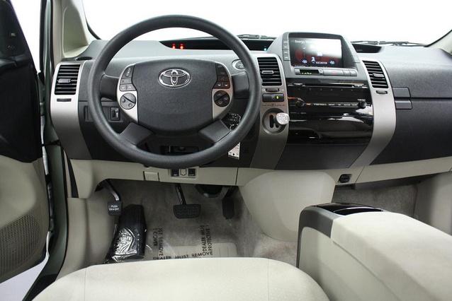 Interior del Toyota Prius Hybrid