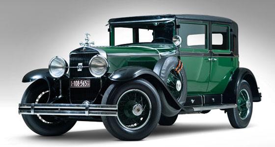 coche utilizado por Al Capone