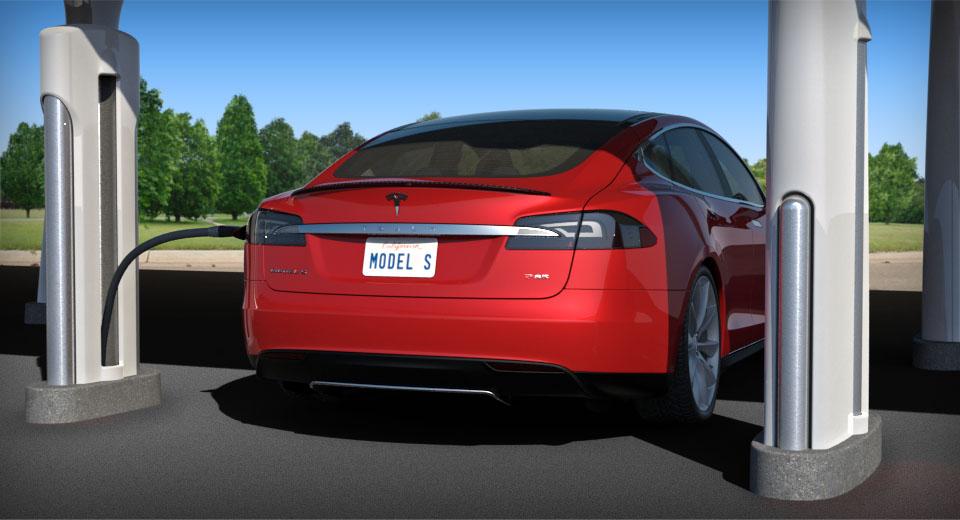 Estación solar de carga rápida de Tesla