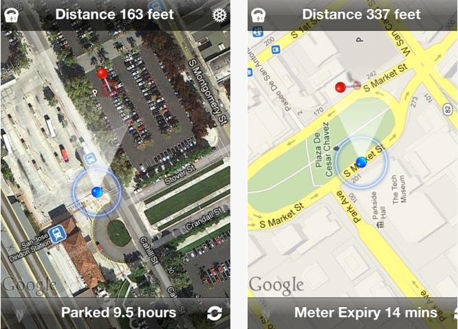 Capturas de pantalla de Find My Car Smart