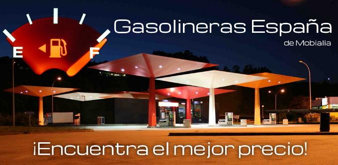 Imagen promocional de la aplicación Gasolineras España
