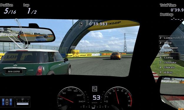 Imagen de un videojuego de coches