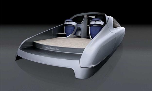 Nuevo yate de lujo diseñado por Mercedes-Benz
