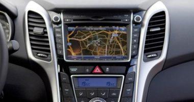 Pantalla de navegación del Hyundai i30