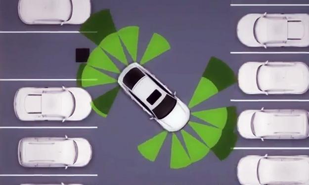 app de móvil para aparcar un Audi