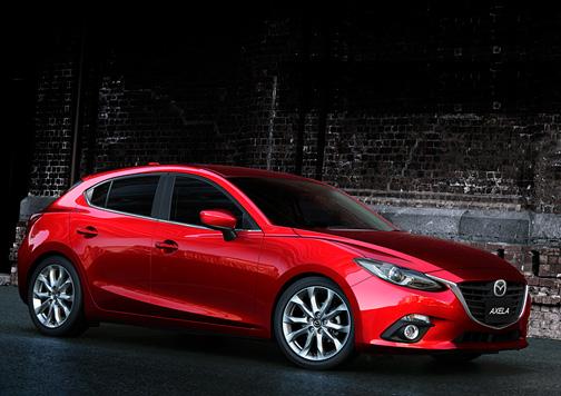 Madza 3 Hibrid. Lo nuevo que está por llegar de Japón. Foto: Mazda Japón.