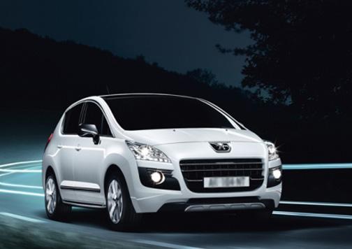 Peugeot 3008 Hibrid4, una de las apuestas más fuertes de la marca del león por los híbridos. Foto: Peugeot.