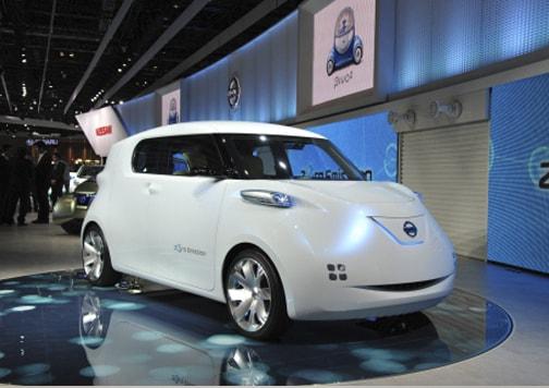 <em>Diseño típicamente japonés el que se pudo observar en este Nissan Townpod conceptual. Foto: Tokyo Motor Show.</em>