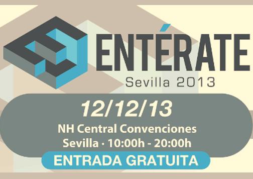 cartel evento Entérate Sevilla 2013.