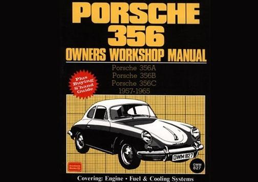 manual de usuario Porsche clásico.