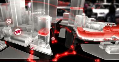 Simulación ciudad conectada Audi