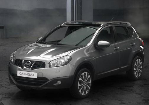 Nissan Qashqai gris