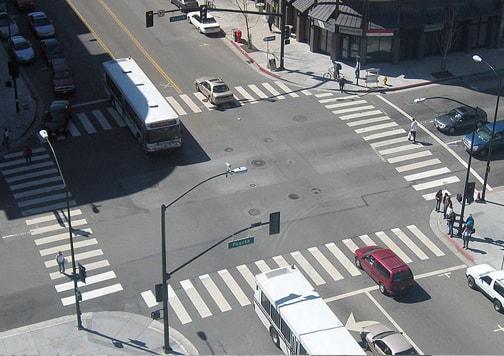 semáforo tráfico