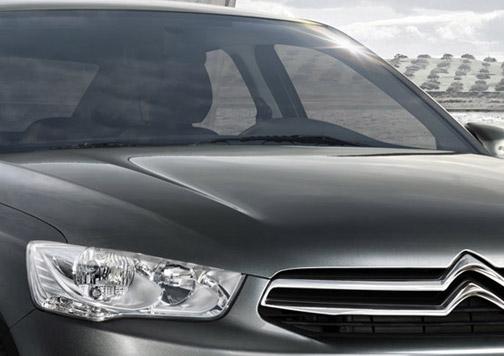 Frontal coche Citroën.