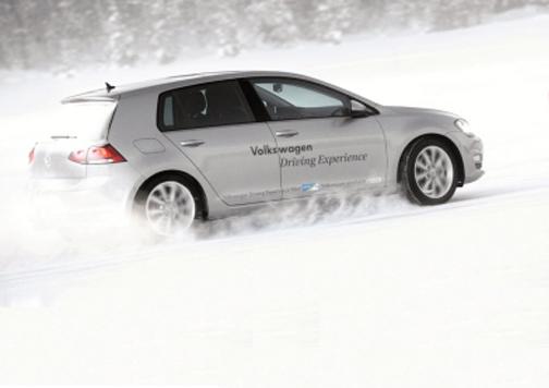 coche blanco sobre nieve