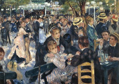 cuadro de Renoir.