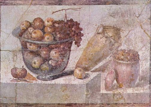 alimentos de la cocina romana