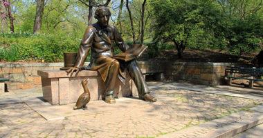 Estatua-hans-christian-andersen-central-park