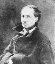 Charles Beaudelaire fotografiado por Nadar