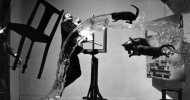 Fotografía pintor Dalí