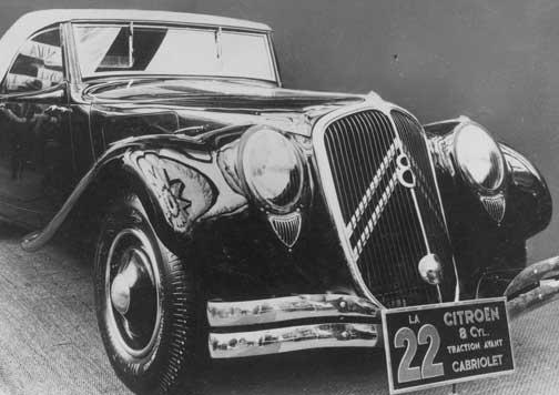 coche clásico Citroën.