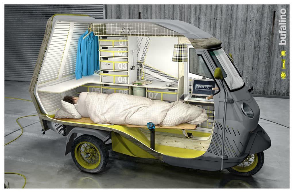 La caravana m s peque a del mundo bufalino - Interior caravana ...