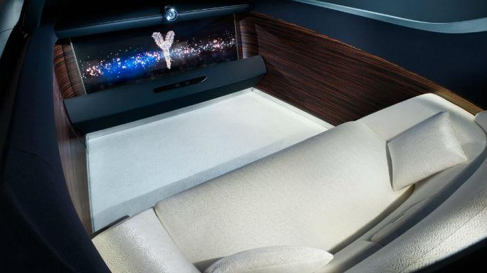Rolls Royce Vision Next 100 interior