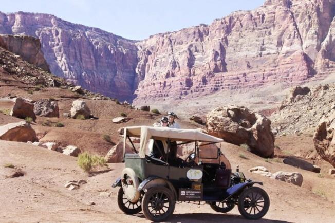Ford T en el desierto