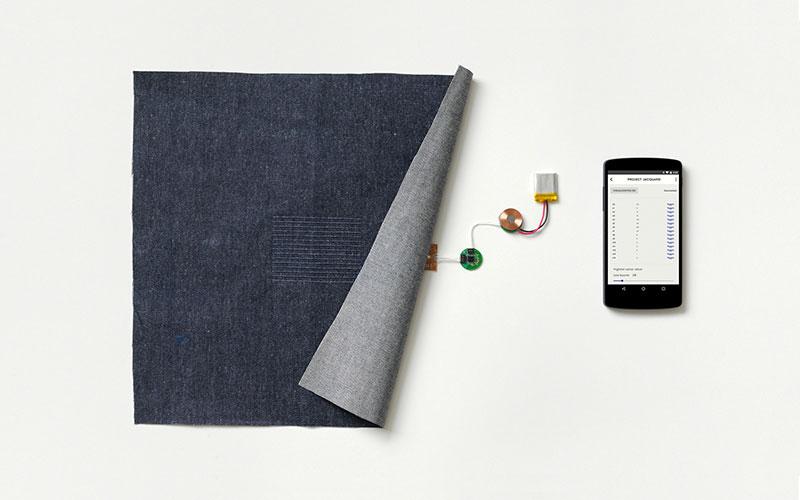 Sensor de chaqueta inteligente de Google