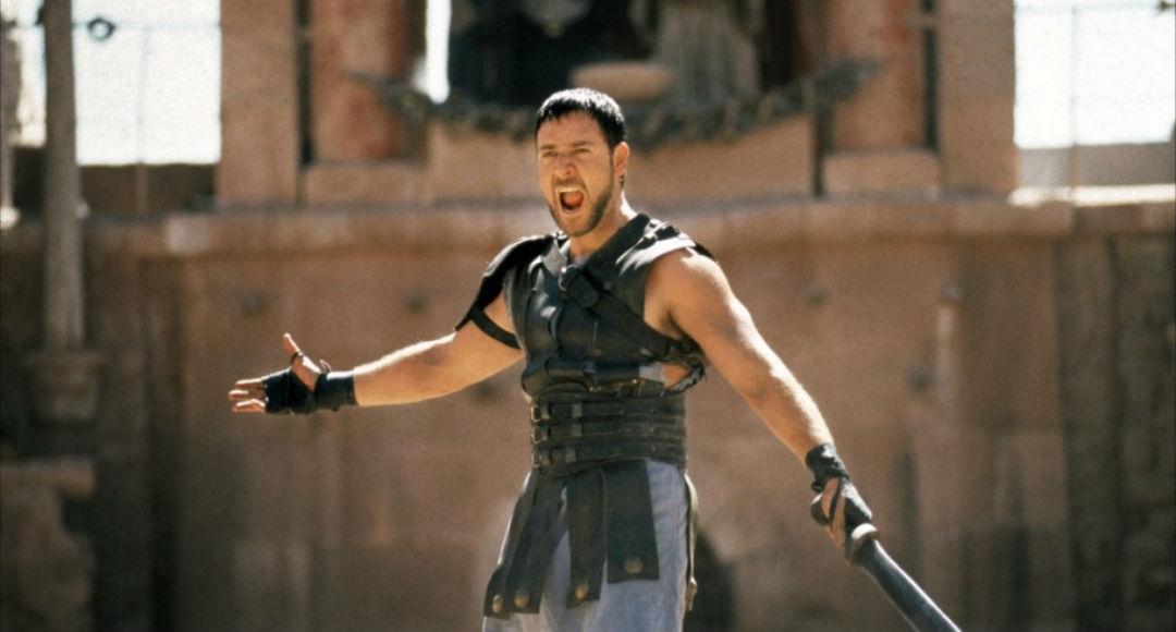 escena Gladiator - Russell Crowe