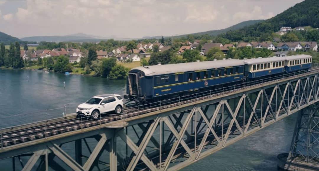 Land Rover Discovery Sport remolque tren