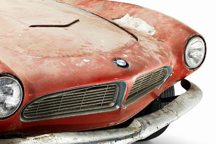 capó del BMW de Elvis Presley