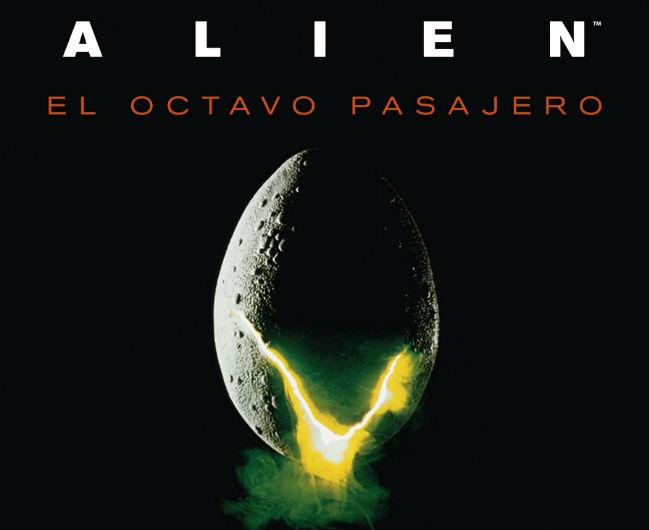 Cartel Alien: el octavo pasajero