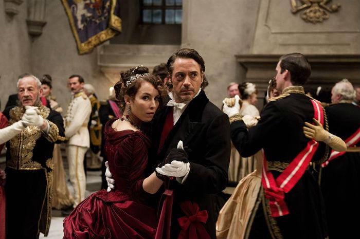 Baile Sherlock Holmes y Simza - Juego de Sombras