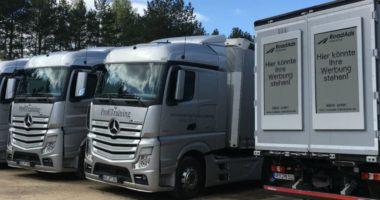 Camiones Mercedes Benz - Pantallas interactivas