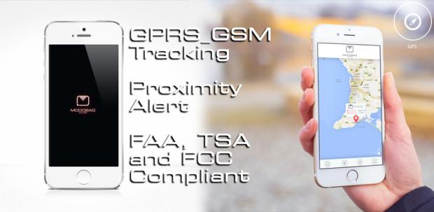 App y sistema GPS - Modobag