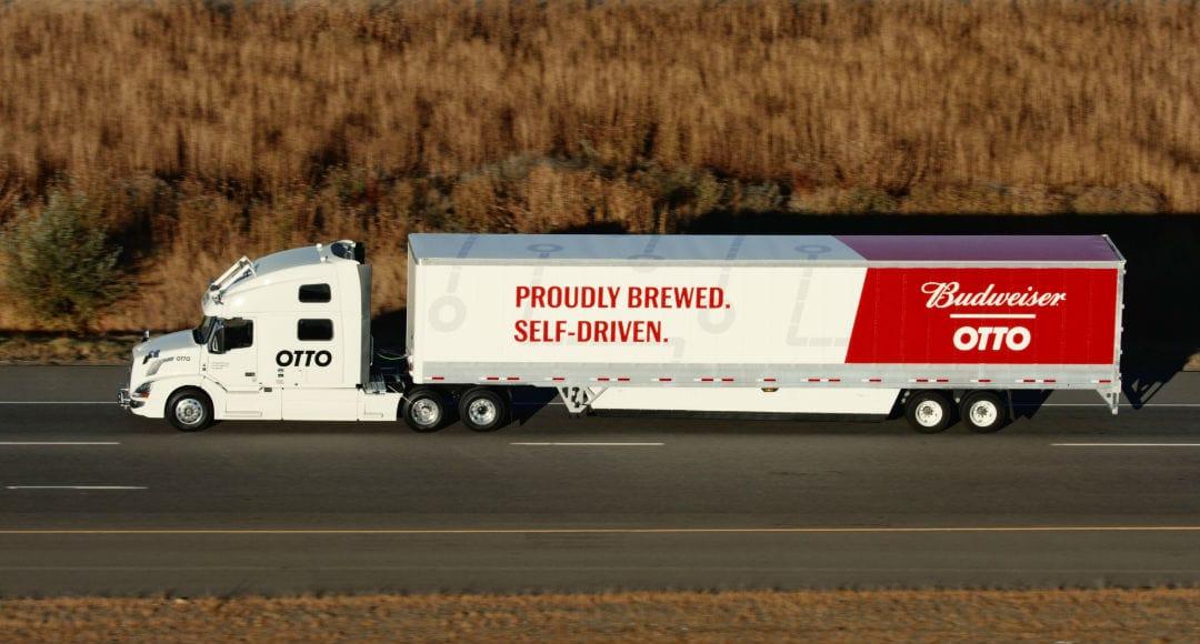 Camión sin conductor