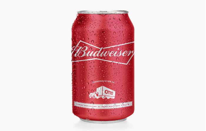 Edición especial lata Budweiser - camión sin conductor