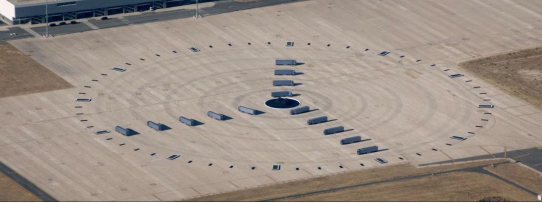 Camiones Scania - reloj más grande del mundo