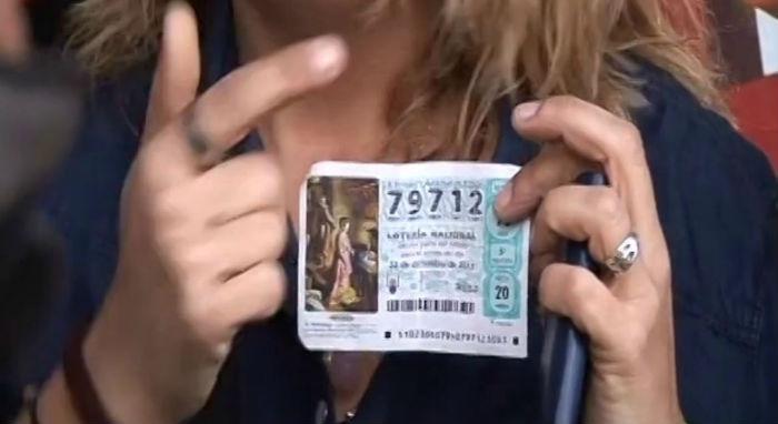 Curiosidades de la lotería de Navidad - premio 79.712