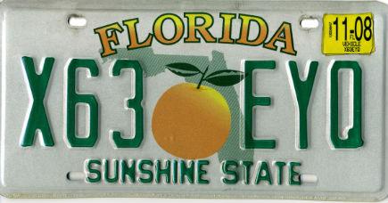 Matrícula de Florida