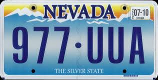 Matrícula de Nevada