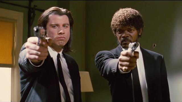 Agujeros bala Pulp Fiction