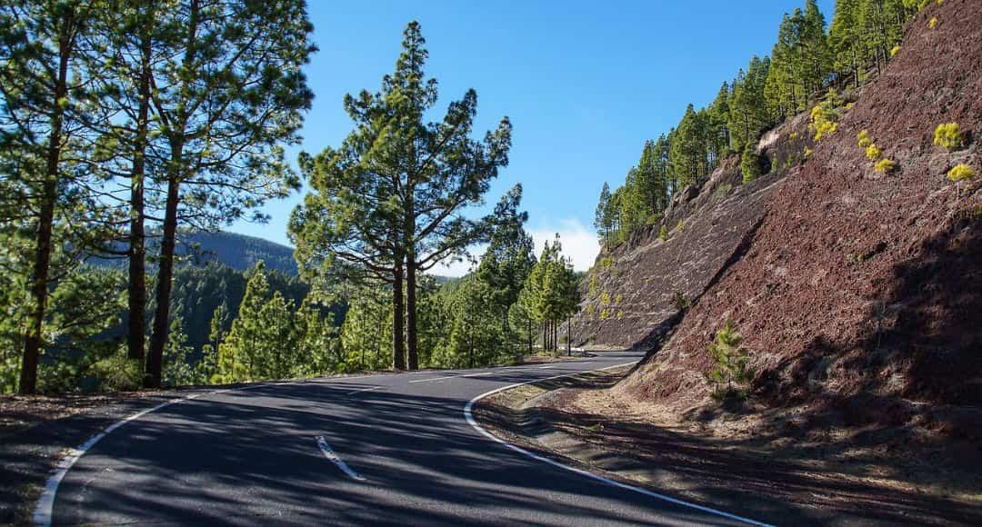 Carretera Tenerife - carreteras más peligrosas de España
