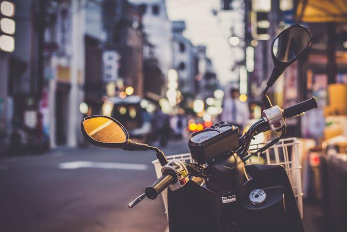 Seguro joven moto