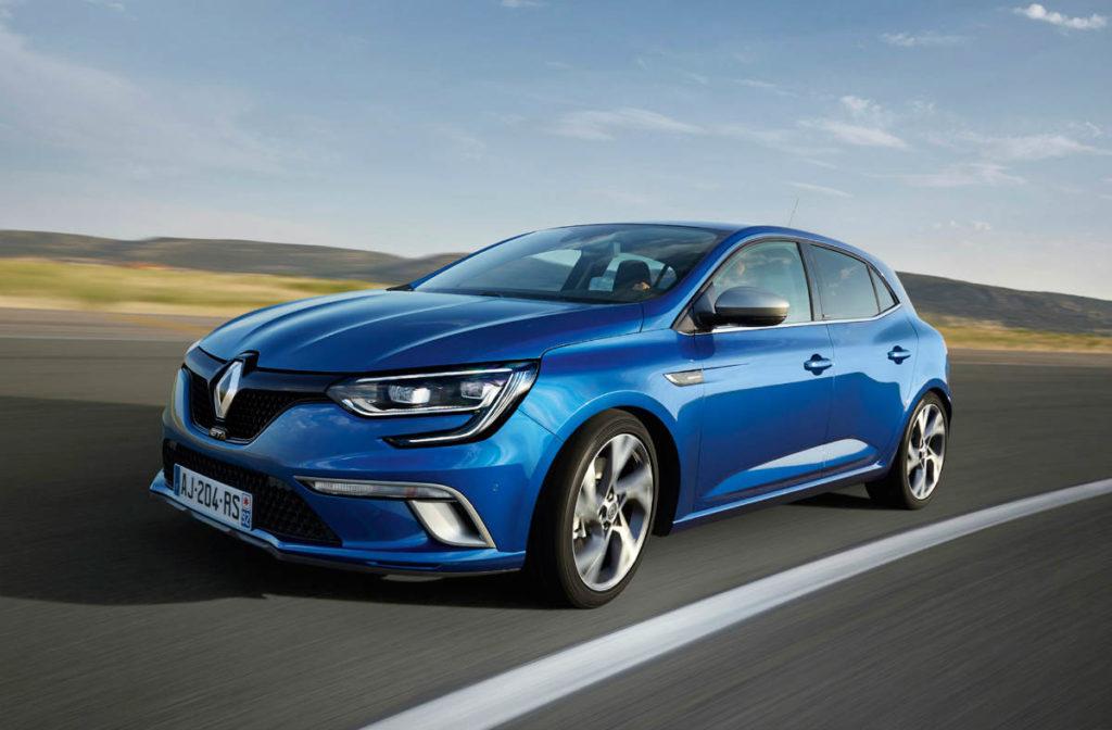 Renault Megane - marca más vendida en 2017